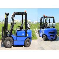 Quality Manual LP Gas Forklift 2.5T 3m 3680kg Self Weight With Solid Tires And Fork Extension for sale