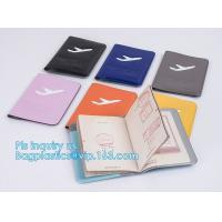 China shinny promotion PVC Passport cover or Passport Case, PU and PVC grid card holder with zipper passport cover, Passport C on sale
