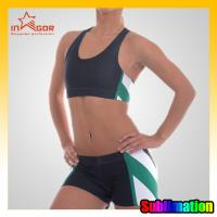 China Colorful Youth Cheerleading Sportswear , Personalized Eco-Friendly Cheerleader Uniforms on sale