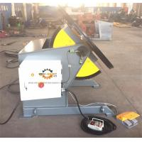 Quality Tilting Rotary Welding Positioner With Slew Bearing 1200KG Loading 1200mm Table for sale
