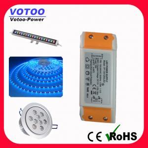 Quality 12W Constant Voltage 12V 24V LED Driver Power Supply IP23 Transformer for sale