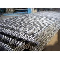 Buy cheap Airport Strong Rebar Concrete Wire Mesh Panels With Rectangular Grids / Square from wholesalers