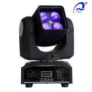 China 4 Pcs 15W 4 In 1 Osram LED Moving Head Zoom LED Disco Light DMX512 AC100 - 240V on sale