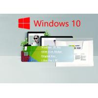 Quality Win 10 Pro Key Code 1 Key For 1 Pcs FQC-08983 Windows 10 Pro OEM Sticker Global Use for sale