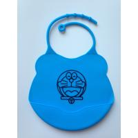 Quality Washable Over The Head Bibs For Babies , Small Size Baby Girl Dribble Bibs for sale