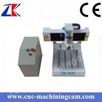 Quality Mini desktop printed circuited board cnc router  ZK-3030(300*300*80mm) for sale