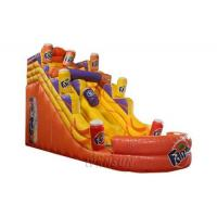 Buy cheap Fanta Inflatable Slide WSS-255/Commercial advertising display custom trampoline from wholesalers