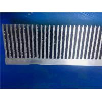 Quality 6063 - T5  Extruded Aluminum Heatsink Anodized Surface Infinite Length for sale