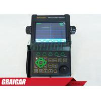 Quality Digital Portable Ultrasonic Flaw Detector NDT Testing Equipment Transducer Connections BNC or LEMO for sale
