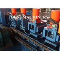 Buy Galvanized 5mm Thick U Channel Roll Forming Machine for Highway Guardrail at wholesale prices