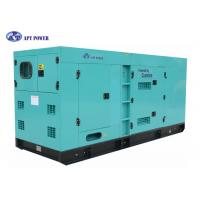 Quality Heavy Duty 180 kVA Cummins Quiet Diesel Generator For Continuous Power Generation for sale