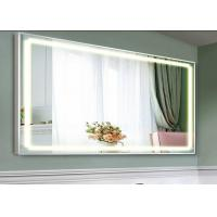 Backlit Mirror Led Tv Wifi Supported Silver Color With High Image Clearity