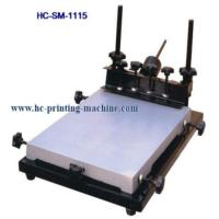 China Manual Screen Printer for sale