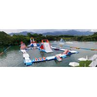 Quality HK Inflatable Floating Water Park Games Manufacturer / Inflatable Water Obstacle Course for sale