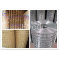 Buy cheap Silver Color Galvanized Wire Cloth Fence Panels For Mines , Good Corrosion from wholesalers