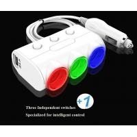 Buy Car Accessories Colored LCD with Voltage Test Socket Adapter for Car Cigarette at wholesale prices