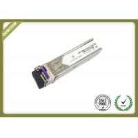 China 20km Single Mode SFP Fiber Module Transceiver With LC Connector OEM Service for sale