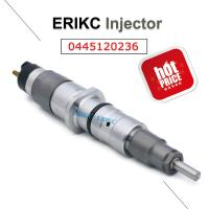 Quality ERIKC Komatsu Cummins 0445120236 diesel auto injector 0 445 120 236 bosch fuel injection parts 0445 120 236 for sale