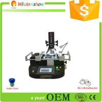 Quality WDS-4860 touch screen manual BGA rework station with vacuum pen from China supplier for sale