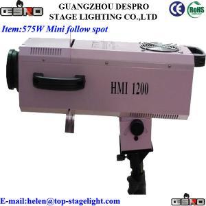 Quality 575W Mini Follow Spot Stage light for sale