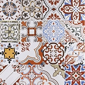 China Mix Color Wall Decoration 600x600 Ceramic Tile Floor Tiles on sale