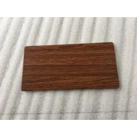 Buy Waterproof Wood Grain Aluminium Composite Panel Lightweight Building Materials  at wholesale prices
