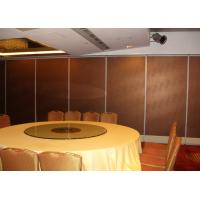 China Elegant Movable Wall Partitions, Soundproofing Wall Panels on sale