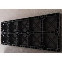 Quality Black Plastic Construction Formwork , Insulated Concrete Formwork For Concrete Columns for sale