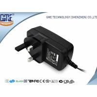 Quality CE GS Class 6 Black UK 9V 2A Universal AC DC Adapters for Speaker , 1 year Warranty for sale