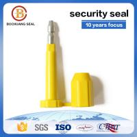 China shipping Carbon Steelhot sale disposable security bolt seals for trucks B301 High security seal for sale