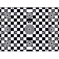 Quality Photographic Paper SineImage YE006 Chessboard Test Chart Reflectance for sale