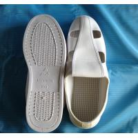 Quality cleanroom PVC 4 holes shoe ESD for sale