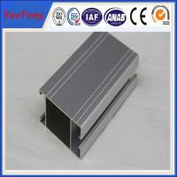 Quality double sliding door window aluminum profiles for sale