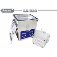 Quality Bentch Top Stainless Steel 2liter Ultrasonic Cleaner Bath Household Use Sterilize for sale