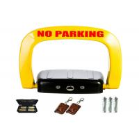 Quality Yellow black anti crash car space lock ≤ 1mA STANDBY CURRENT for sale