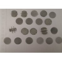 Quality Wire Mesh 304 Grade 0.5mm Stainless Steel Filter Disc for sale