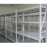 Quality Q235B Light Grey / Dark Blue Warehouse Steel Storage Racks Powder Coating for sale