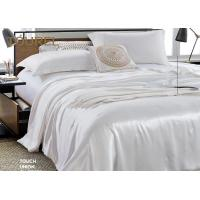 Quality Living Room Wholesale Pure White Hotel Quality Bed Linen 4 PCS Bedding Cover For Guest Room for sale