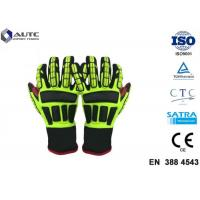 Quality Rescue PPE Safety Gloves , Metal Safety Gloves TPR Material Wear Resistant for sale