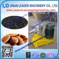 China high quality peanut butter making machine/peanut butter maker/nut butter machine on sale