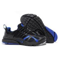 Quality Nike Air Presto 2012 Black Blue Running Shoes china australia usa for sale