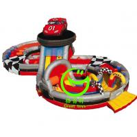 Quality Hot selling inflatable obstacle course  equipment with 24months warranty GT-OBS-0517 for sale