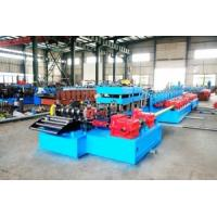 Quality ANSI-American National Standards Institute Freeway Guardrails Roll Forming Machine Use Gear Reducers Driving for sale