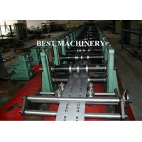 Buy Goods Shelf Rack Roll Forming Machine Adjustable Change Size at wholesale prices