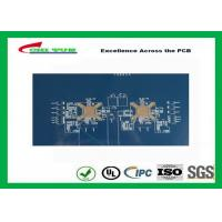 Buy 3.8mm 12 Layer Quick Turn PCB Prototypes Blue Solder Mask PCB OEM at wholesale prices