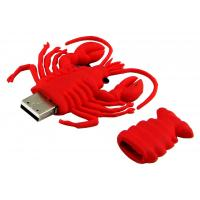 Red Lobster Customized USB Thumb Drives, Custom USB Flash Drive With Logo