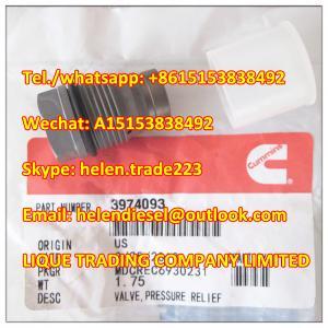 Quality 100% original 3974093 Pressure Relief Valve , BOSCH 1110010028 , 1 110 010 028 genuine and new for sale