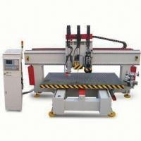 China High-speed Woodworking Machine with High Accurate Rack Rail Travel Method and 380V AC Voltage for sale