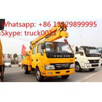 Quality IVECO Yuejin 14m-16m high altitude operation truck for sale, aerial working platform truck for sale