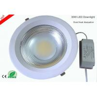 Quality 30W COB LED Downlight High Brightness 2800K-7000K Shop Mall Hotel Lamp for sale